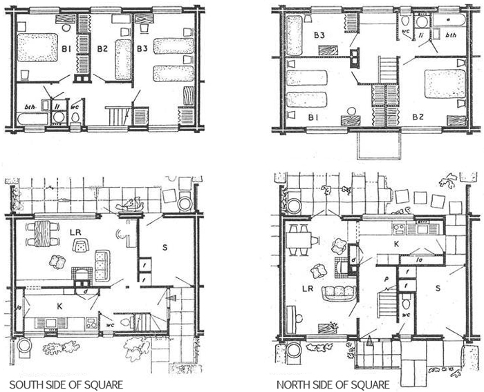 Terraced house plans uk escortsea for Green floor plans